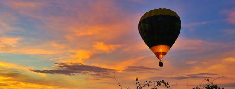 vol en montgolfière au Vumbura Plains
